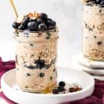 Blueberry Banana Overnight Oats Gluten Free Dairy Free 12