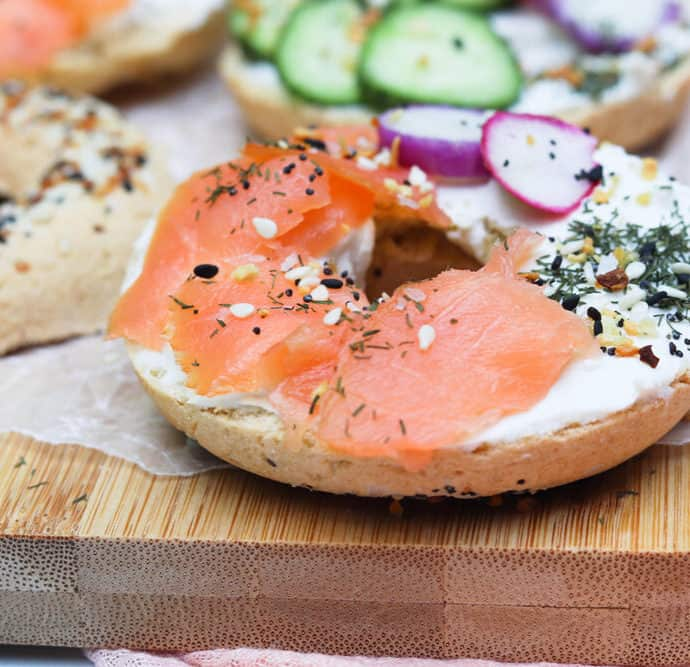 Gluten and Dairy Free Bagels