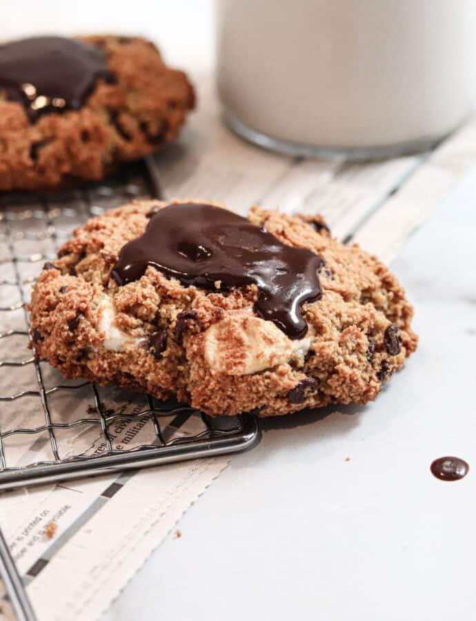 Chocolate Marshmallow Cookies ( PALEO | GLUTEN FREE | DAIRY FREE)