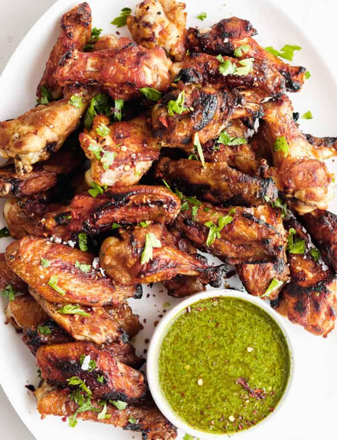 Cilantro Lime Chicken Wings (PALEO | WHOLE 30 | KETO)