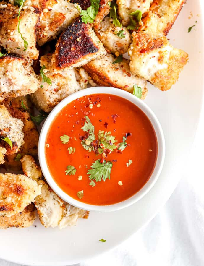 Chicken Nuggets With Buffalo Sauce | Paleo, Whole30