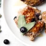 blueberry maple turkey breakfast sausage 5