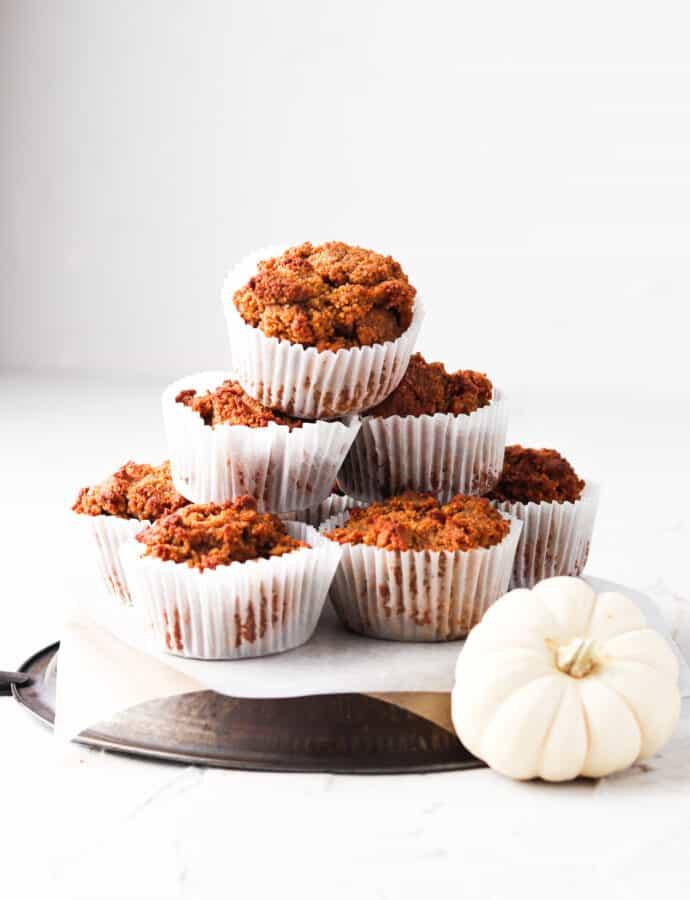 Pumpkin Muffins (Gluten Free | Paleo)