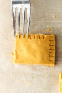 fork in ravioli