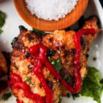 Crispy Air Fried AIP Chicken Thighs 12