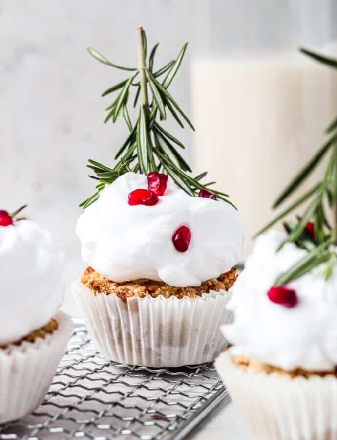 AIP Holiday Cupcakes (Paleo, Allergy friendly)