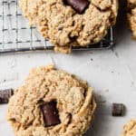 dairy free peanut butter cookies6