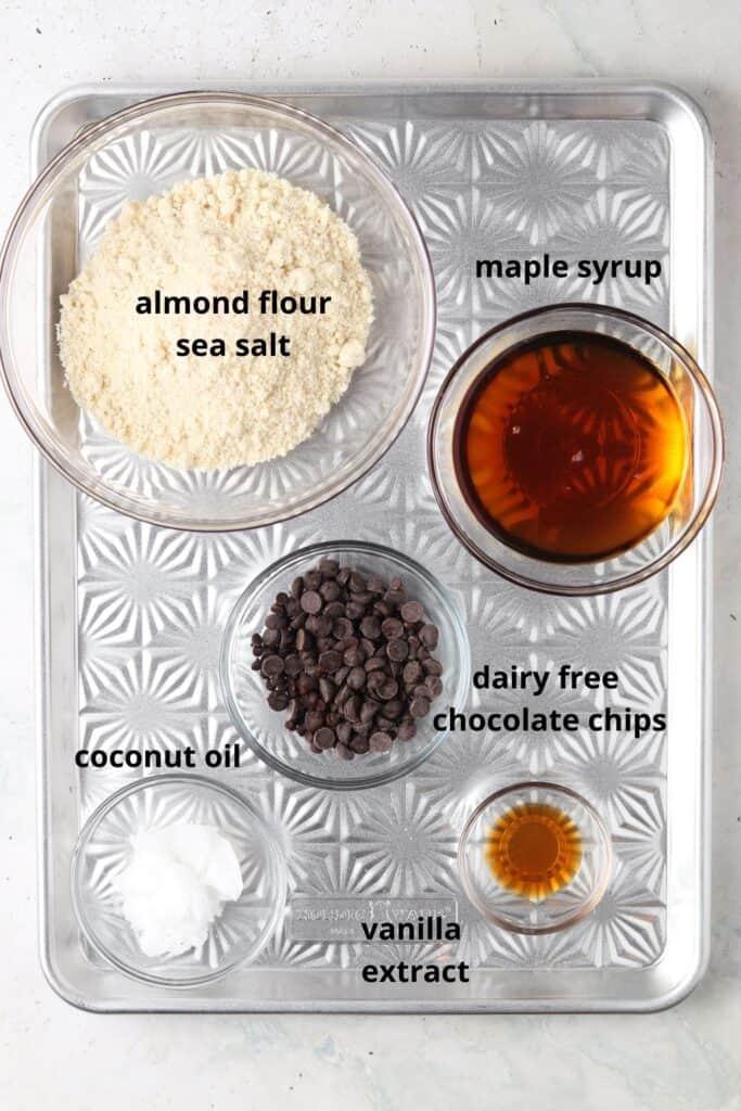 gluten free edible cookie dough ingredients