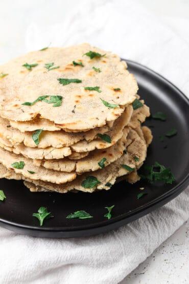 AIP Tortillas Made With Cassava Flour (Paleo, Whole30)