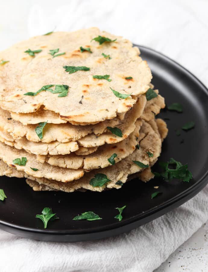 AIP Tortillas Made With Cassava Flour (Paleo, Whole30)