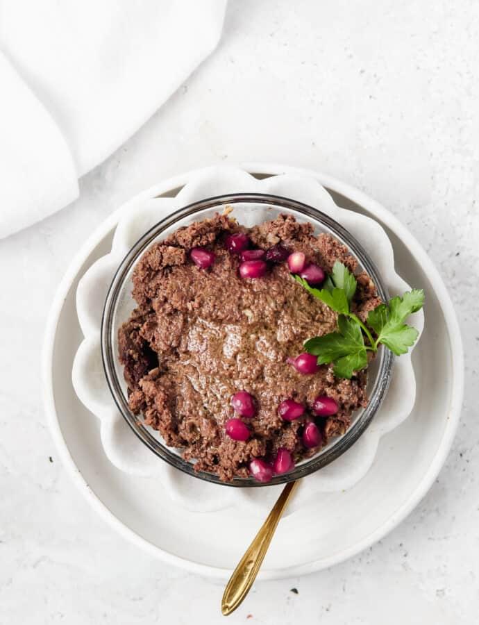 Beef Liver Pate Recipe (Paleo, Whole30, AIP, Keto)