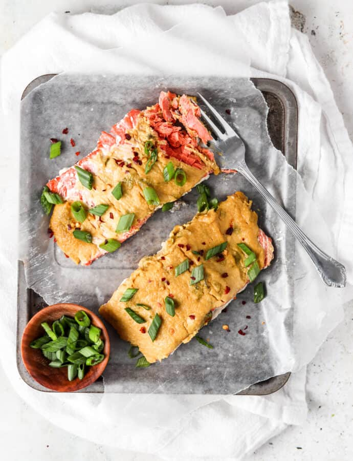 Herb Crusted Salmon (Paleo, Gluten Free)