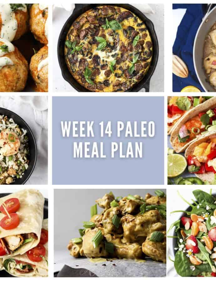 Week 14 Newsletter Meal Plan Collage