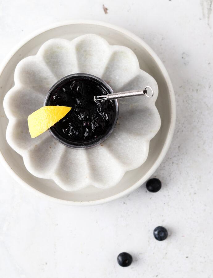 Blueberry Maple Jam (Paleo, Vegan, AIP)