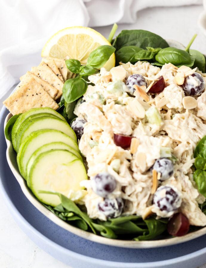 Whole30 Chicken Salad (Paleo, Keto, Dairy Free)