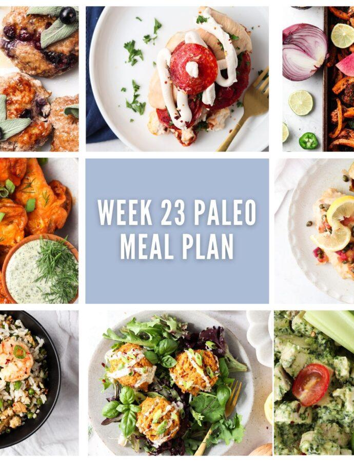 week 23 paleo meal plan