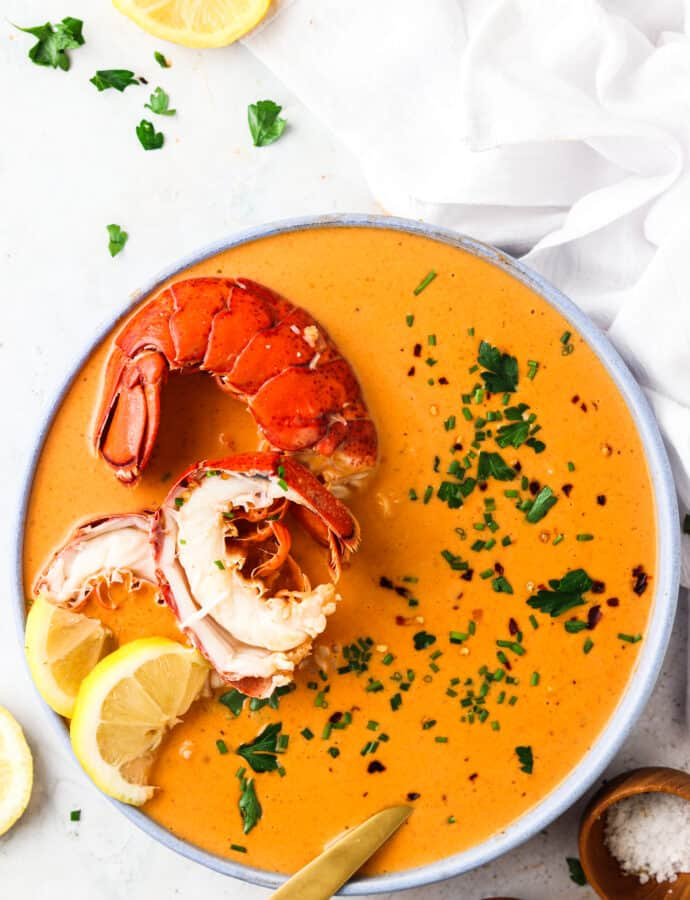 Dairy Free Lobster Bisque (Paleo)