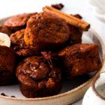 flourless pumpkin muffins 112