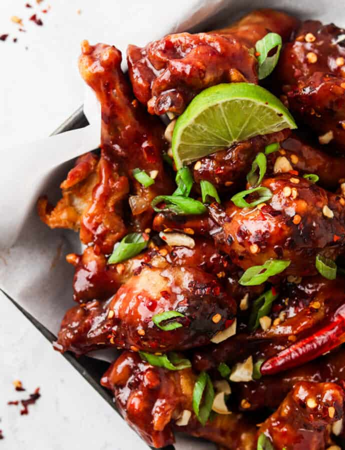 Peanut Butter And Jelly Wings