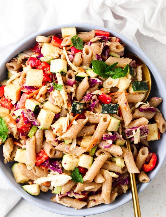 Thai Pasta Salad (Whole30 Friendly)