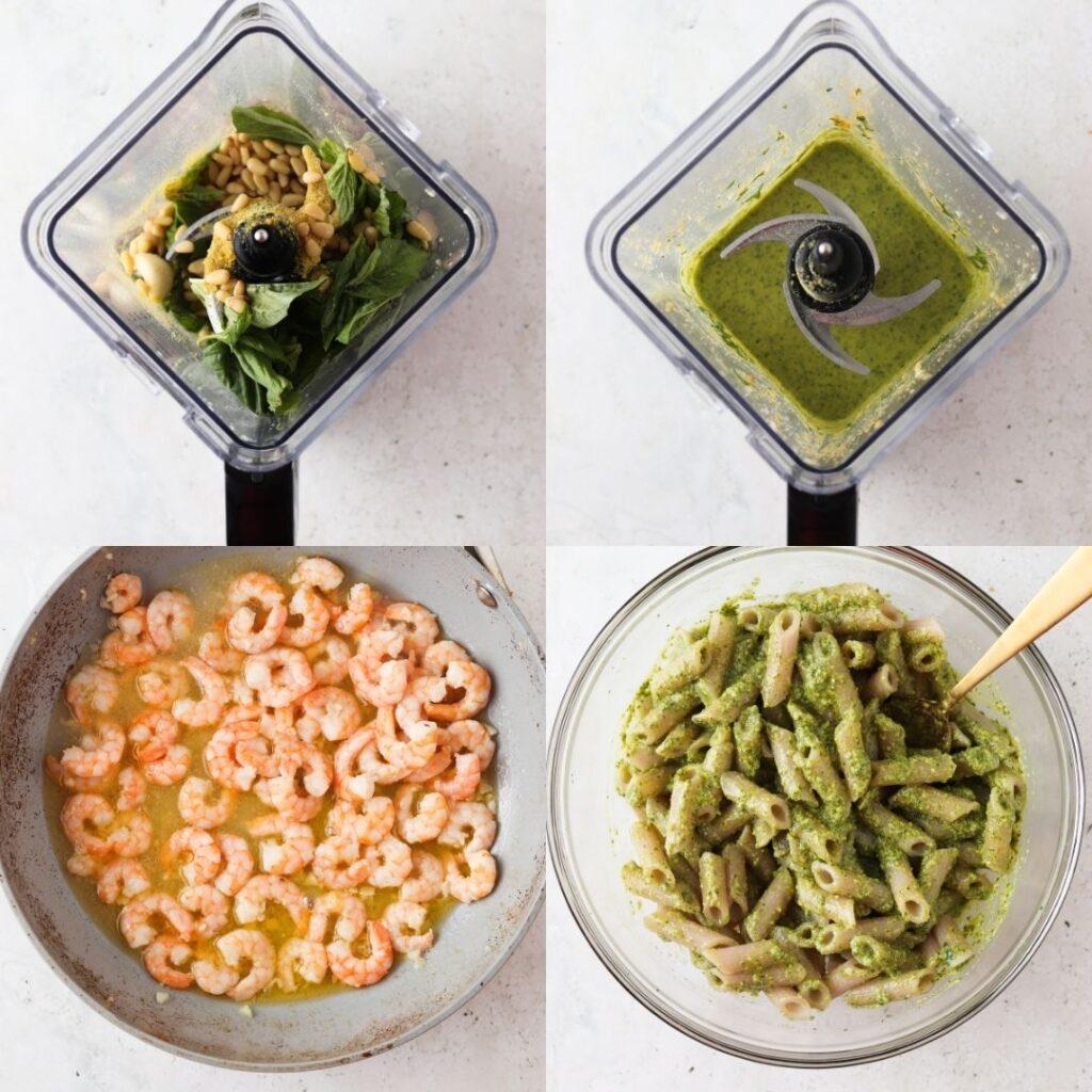 paleo shrimp recipe process shots