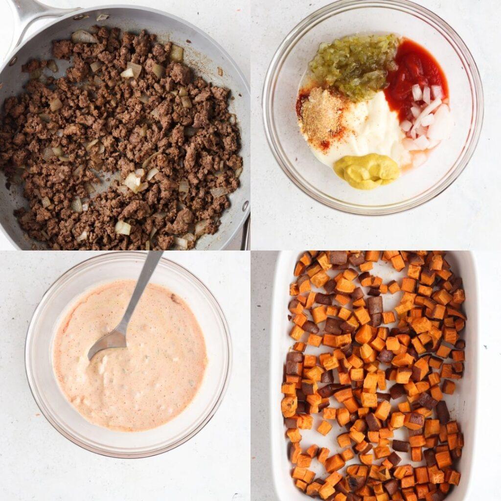step by step how to make keto casserole